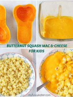 Sneak some hidden veggies into your kids meal with this delicious Butternut Squash Mac and Cheese recipe. A healthy take on mac and cheese which is great for great for toddlers and baby weaning. food Butternut Squash Mac & Cheese For Kids Healthy Baby Food, Healthy Toddler Meals, Kids Meals, Healthy Snacks, Meals For Baby, Food Baby, Butternut Squash Mac And Cheese Recipe, Baby Mac And Cheese Recipe, Butternut Squash Baby Food