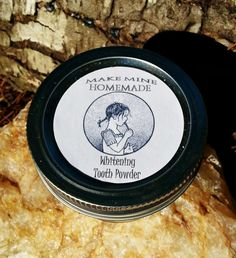 Whitening Natural Tooth Powder Detoxify by makeminehomemade, $8.00