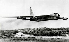 Boeing Stratofortress first flight, Boeing Field, 15 April 1952 - to Larson AFB, Moses Lake, Washington. B 52 Stratofortress, Moses Lake, Boeing Aircraft, Experimental Aircraft, Work Horses, Old Models, Vietnam War, Military Aircraft, Photographic Prints