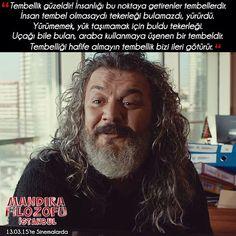 Tembellik güzeldir. İnsanlığı bu noktaya getirenler tembellerdir. İnsan tembel olmasaydı tekerleği bulamazdı, yürürdü. Yürümemek, yük taşımamak için...   - Mustafaali (Mandıra Filozofu İstanbul)  #sözler #anlamlısözler #güzelsözler #manalısözler #özlüsözler #alıntı #alıntılar #alıntıdır #alıntısözler #şiir #filmreplikleri #filmsözleri #film