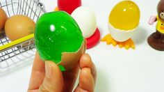 ToyCheff Make Colorful Jelly Eggs & Chocolate Eggs Using Really Eggshell...