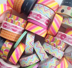 Nieuw binnen! Allerlei vrolijke masking tapejes - http://credu.nl/product-categorie/masking-tape-labels/