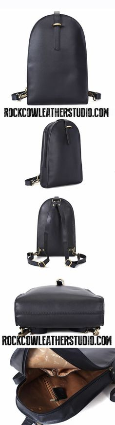 Fashion Full Grain Leather Backpack, Women Backpack, Daily Bag WF14