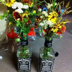 Better start saving bottles- center pieces