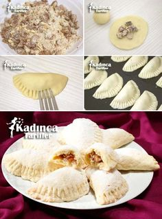 Ağızda Dağılan Hurmalı Kurabiye Tarifi Greek Cooking, Cooking Time, Turkish Tea, Tea Time Snacks, Homemade Beauty Products, Cake Cookies, Healthy Snacks, Food And Drink, Eggs