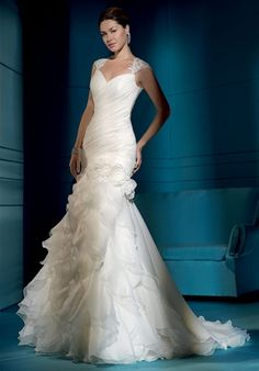 Mermaid wedding dress, pretty