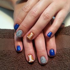 Letty did these at the Spa. So cute!! Seems everytime I turn around, she is doing this on another client.