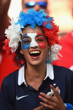 Photogenic fans of the World Cup - Day 9