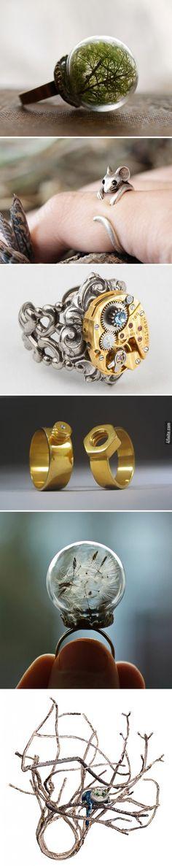 6 Fotoğrafta Birbirinden Yaratıcı Yüzük Tasarımları - 4finite.com