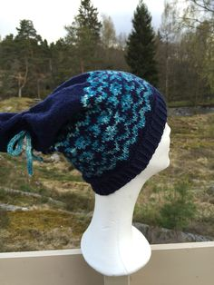 Theas fiskelue, strikket i Järbo Mellanraggi. My Design, Beanie, Hats, Fashion, Moda, Hat, Beanies, Fasion, Fashion Illustrations