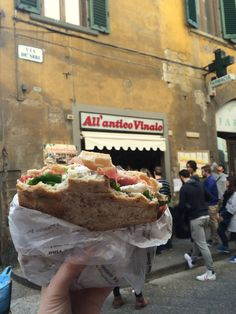 Best sandwich shop in the world! Florence, Italy