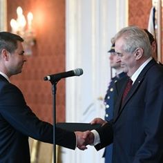 Czech President appoints Jiri Havlicek as the new industry and trade minister