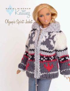 Free Knitting Patterns For Tonner Dolls : Knitting pattern for 16