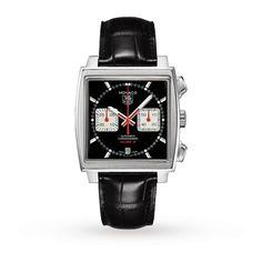 TAG Heuer Men's Monaco Watches | Luxury Watches | Watches | Goldsmiths £2700