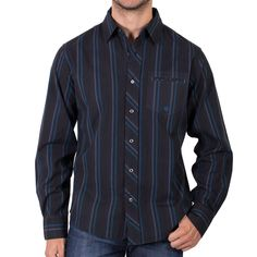 Moonshine Spirit Men's Stripe Distortion Western Shirt | Boot Barn