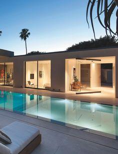 уличный переливной бассейн с щелевым переливом, outdoor overflow pool with slit overflow pool ideas