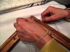 Aprender a tejer en telar cuadrado tecnica tafetan Autor: Stella Grandi Por…