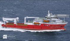 New Diving & Construction Vessel For Singapore's Kreuz Subsea