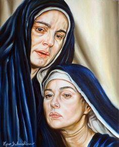 Pietà  Olio su tela  40X50    Sebastiano Topo http://www.facebook.com/pagesSebastianoTopo