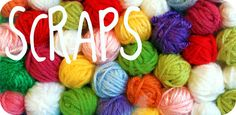 !!!IMPORTANT!!! All content has been moved to MAMACHEE.COM: What to do with our yarn SCRAPS - Idea #1