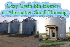 Cozy Grain Bin Homes as Alternative Small Housing - LivingGreenAndFrugally.com