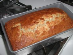 A completely easy quick bread-always turns out. I really enjoy this one.