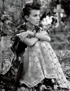 If you thought Millie Bobby Brown couldn't get any more badass after playing Eleven in the hit TV series Stranger Things, think again, because the 12-year-old star has just had her first ever magazine cover shoot, and guess what? She looks even cooler than we've ever seen her before.