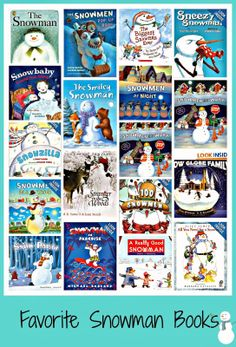 Snowmen and Then More Snowmen ~ Timely! Free compilation of ideas and resources.