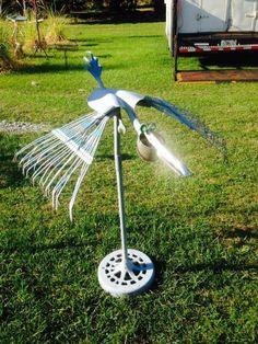 Welding Art Projects, Welding Crafts, Metal Art Projects, Metal Crafts, Metal Yard Art, Scrap Metal Art, Bird Sculpture, Metal Sculptures, Metal Figurines