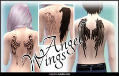 Sims 4 CC's - The Best: Tattoos by LenPHM