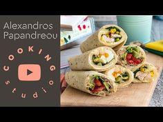Τορτίγια, 3 διαφορετικές συνταγές για Back to School   Alexandros Papandreou - YouTube Tacos, Food And Drink, Healthy Eating, Mexican, Ethnic Recipes, Foods, Youtube, Eating Healthy, Food Food