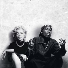 Tupac && monroe this is beautiful