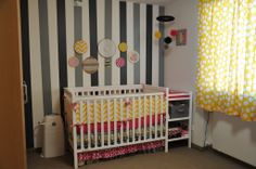 Pink, Yellow & Gray Owl Nursery « Project Nursery