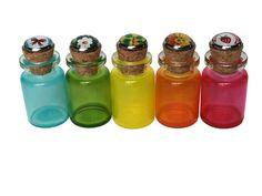 Cabochon Colored Glass Vials Glass Vials, Colored Glass, The Originals, Coloured Glass, Stained Glass