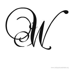 Calligraphy Alphabet Romantic W Megan Walker How To Write Calligraphy, Calligraphy Alphabet, Style Alphabet, Alphabet Letters, Alphabet Tattoo Designs, Gaming Tattoo, Wrist Tattoos For Women, Letter Stencils, Lettering Design