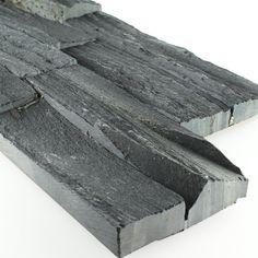 Brickstones Mauer Verblender Wand Verkleidung Black