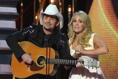 Brad Paisley, Carrie Underwood to Host 2015 CMA Awards