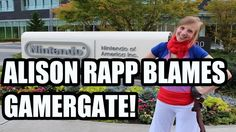 [#Gaming] Nintendo Treehouse's Alison Rape Blames GamerGate - JFS Rants