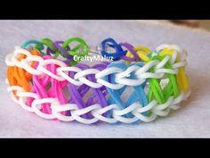 Rainbow Loom bracelet TAFFY TWIST  - YouTube