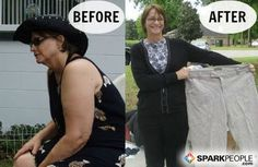 Inspiring!! 'I Lost 60 Pounds (at 60 Years Young) with SparkPeople!'