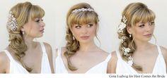 Romantic Hairstyles Ideas 2019 Romantic Bridal Hair and Makeup S Hair Es the Bridal Hairstyles With Braids, Side Braid Hairstyles, Romantic Hairstyles, Braided Hairstyles For Wedding, Bride Hairstyles, Cool Hairstyles, Hairstyle Ideas, Half Up Wedding Hair, Wedding Braids