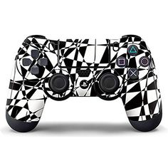Ps4 Skins, Ps4 Controller, Playstation Games, Video Game Console, Sticker, Decal, Computer Accessories, Card Games, Black And White