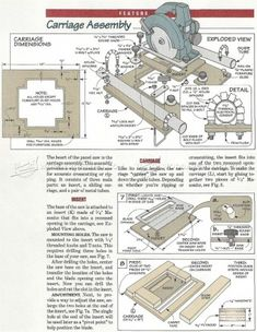 #382 Panel Saw Plans - Circular Saw Tips, Jigs and Fixtures