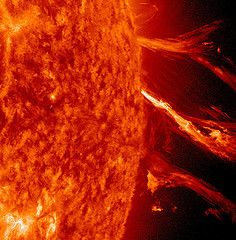 solar flare orange sun Whats in YOUR  Faraday Cage? A common sense guide to preparing for an EMP