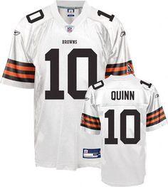 reebok cleveland browns brady quinn 10 brown replica jersey sale