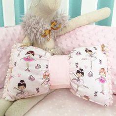 Nursery Decor Bow Pillow Decorative Pillow by VivibellesBows