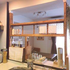 ふきんはいつでも清潔が鉄則!ふきんの置き場所10選 Homey Kitchen, Diy Kitchen, Kitchen Decor, Diy Interior, Interior Design Living Room, Cocina Diy, Diy Woodworking, Decoration, Room Decor