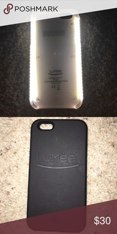 iPhone 6s Plus Lumee phone case Used once great condition will come with charger Other