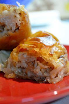 Μηλόπιτα με ρύζι, καρύδια και φύλλο – H Aπόλαυση Tης Βρώσης