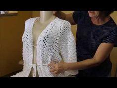 Saída de praia, tricô, Claudia Maria, Ateliê na TV - YouTube